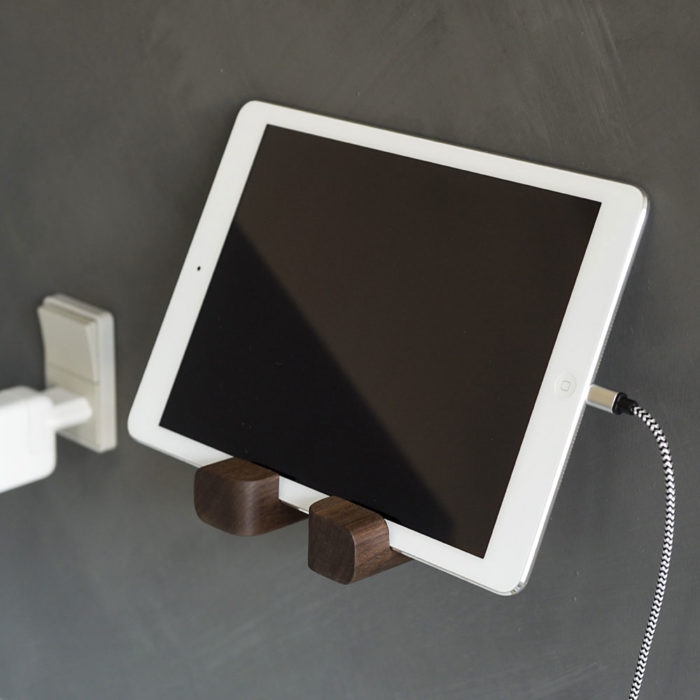 Holderen er også god som iPad-holder eller til andre tabletcomputere.