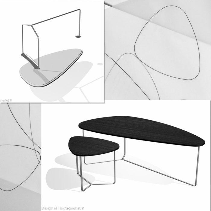 Sofabord – skitseprojekt.